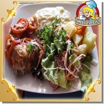 Lee el articulo completo Menu Catering Service - 08 - Lomito de cerdo relleno con queso mozzarella, espinacas y zanahoria
